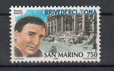 1996 SAN MARINO L. 750 STORIA DELLA CANZONE PER RASCEL  ARRIVEDERCI ROMA  MNH**