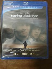 Saving Private Ryan (Blu-ray Disc, 2010, 2-Disc Set, Sapphire Series) brand new!