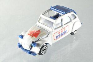 """JS170 Norev """"Jet-Car"""" #843 1:43 Citroën 2CV6 """"Petit Bateau"""" A+/-"""