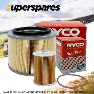 Ryco Oil Air Filter for Nissan Patrol GU VI II III 4cyl 3L Diesel ZD30D ZD30