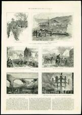 1888 - ITALY SAN REMO WALES TITHE SALES BANFFSHIRE RAILWAY MARRIS FIRE  (060)