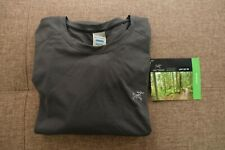 Arcteryx Motus Crew LS Tee Shirt Mens Graphite Colour Brand New with OriginalTag