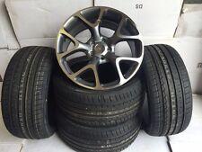 "18"" flocon de neige G Roues En Alliage Vauxhall Astra/Vectra/Zafira-ALFA 159/SAAB-VXR pneumatiques"