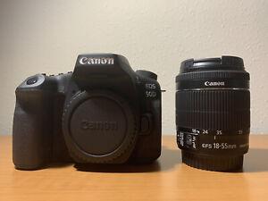 Canon EOS 90D UHD 4K DSLR + Kit Lens 18-55mm + Accessories