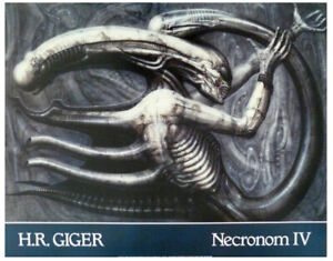 'Necronom IV' H.R. Giger fine art poster