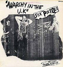 "SEX PISTOLS ""ANARCHY IN THE U.K."" ORIG FR 1977 MAXI 12"""