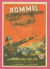 Spanish Pocket Calendar #292 The Desert Fox: The Story Of Rommel Film Poster