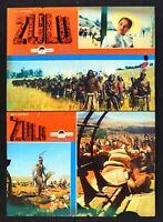 Fotobusta Zulu STANLEY Baker Michael Caine Hawkins Endfield R47