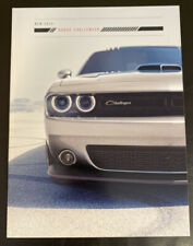2015 Dodge Challenger SXT SRT R/T Hellcat Scat Pack Shaker Dealer Sales Brochure