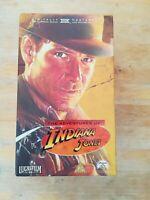 Indiana Jones Trilogy box set VHS 2000 digitally remastered run time 343 mins Ha