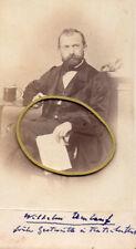Teutschenthal bei Halle, Kgr. Preußen, Wilhelm Umlauf, Gastwirt, CDV, 1860er