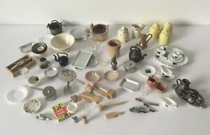 Dolls House Tableware And cookware Accessories