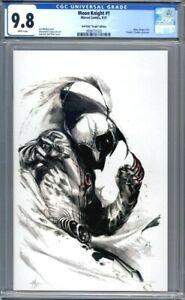 Moon Knight #1 Gabriele Dell'Otto Virgin Variant Marvel Comics 1st Print CGC 9.8