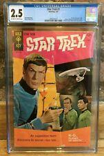 Star Trek #1 Spock Kirk Cover 1967 1st Star Trek Comic CGC 2.5