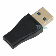 Qualified Data Adapter Connector USB 3.1 Type C Female to USB 3.0 A Male Black