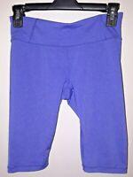 lucy.com Women's Purple Biker Shorts Size XS Spandex Exercise Activewear Stylish