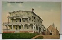 Weston House Madison Maine Postcard A20