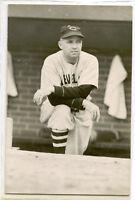 Old Baseball Photo Postcard Ossie Vitt