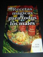 BOOK libro RECETAS MAGICAS PARA TODOS LOS MALES Magia Ceremonia