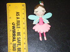 Cute Fairy Fridge Magnet Pink and Green