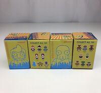 Lot of 4 Futurama Universe X Blind Box Mini Figures Series Kidrobot Loot Crate