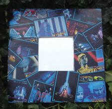 TRON movie wall mirror, 1981 trading cards, sci- fi digital world, Kevin Flynn