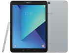 """Samsung Galaxy Tab S3 9.7"""" SM-T825Y 32GB 4GB RAM 4G LTE Factory Unlocked Silver"""