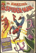 Amazing Spider-man #21 Silver Age Steve Ditko Stan Lee Comics 1965