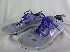 Nike Free TR Fit 4 Breath Cross Training Shoes Gray & Purple Women's 8.5