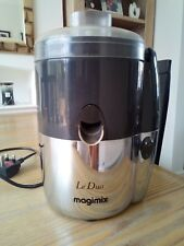 """Le Duo Magimix Juicer Grey and Chrome 250w """"COLLECTION ONLY"""""""