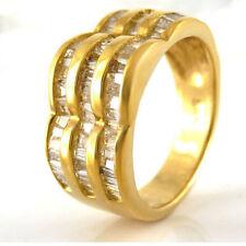 Markenlose Ringe Echtschmuck für Damen mit P1 Reinheit