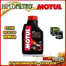 KIT TAGLIANDO 4LT OLIO MOTUL 7100 10W50 SUZUKI VL800 K1,K2,K3,K4 Intruder LC Vol