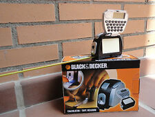 FLEXOMETRO BLACK&DECKER.Con calculadora, luz, post-it. NUEVO,