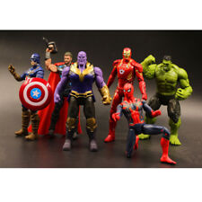 LOT/6pcs Avengers3 figurine INFINITY WAR superhero Spider Hulk thanos jouet 16CM