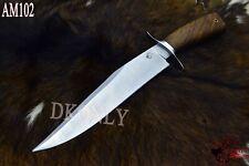"""16"""" Unique Design Custom Handmade D2 Steel Skinner Knife Rose Wood (DKONLY)."""