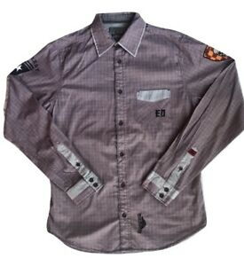 Ed Hardy Men's Long Sleeve Shirt Size Small