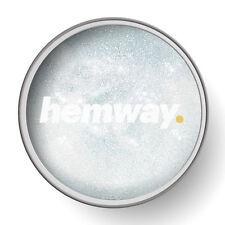 Hemway 1L Chiaro Vernice Glitter Smalto (bianco) per pre-verniciato pareti fai da te UK