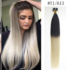 22'' 1g/s Pre Bonded Stick/I Tip 100% Real Remy Human Micro Loop Hair Extension