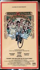 Harry and Walter Go to New York (VHS) 1976 comedy stars James Caan-Diane Keaton