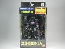 "MSIA ""MS-06R-1A Black Tri-Stars Use Customize ZAKUⅡ"" Action Figure Bandai New"