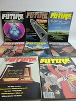 Lot of 8 Future Life Magazines #25-31 Vintage 1980's Science & Sci-Fi Cryonics