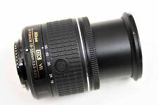 Nikon AF-P NIKKOR 18-55mm f/3.5-5.6G DX VR Lens, Cap and Filter, Mint