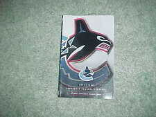 1997 Vancouver Canucks Hockey Media Guide