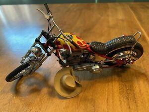 Harley-Davidson Easy Rider Billy Bike Franklin Mint Motorcycle Model 1:10 Scale