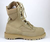"Rocky Boot R6008 8"" Hot Weather Tan Desert Safety Steel Toe Brand New In Box"