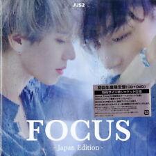 JUS2-FOCUS -JAPAN EDITION--JAPAN CD+DVD+BOOK BONUS TRACK Ltd/Ed J21