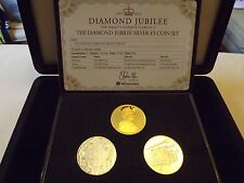Diamond Jubilee silver £ 5 Coin Set