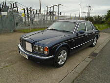 1999 BENTLEY ARNAGE  BLUE WITH CREAM LEATHER  WITH BMW 4,3 V8 GREEN LABEL