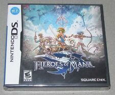 Heroes of Mana for Nintendo DS Brand New! Factory Sealed!