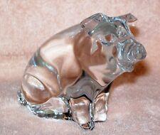 Princess House – Crystal Pets – Pig / Hog / Boar - Figurine